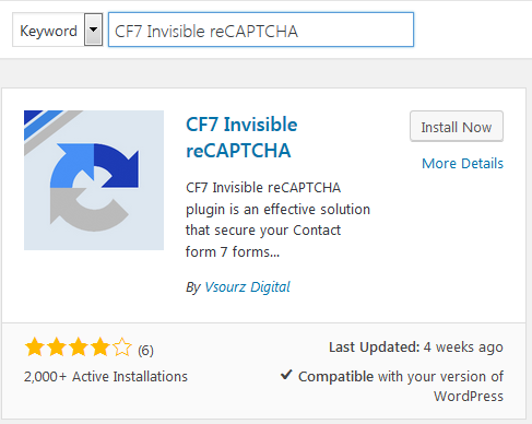 Crucial - Install Google reCAPTCHA in WordPress